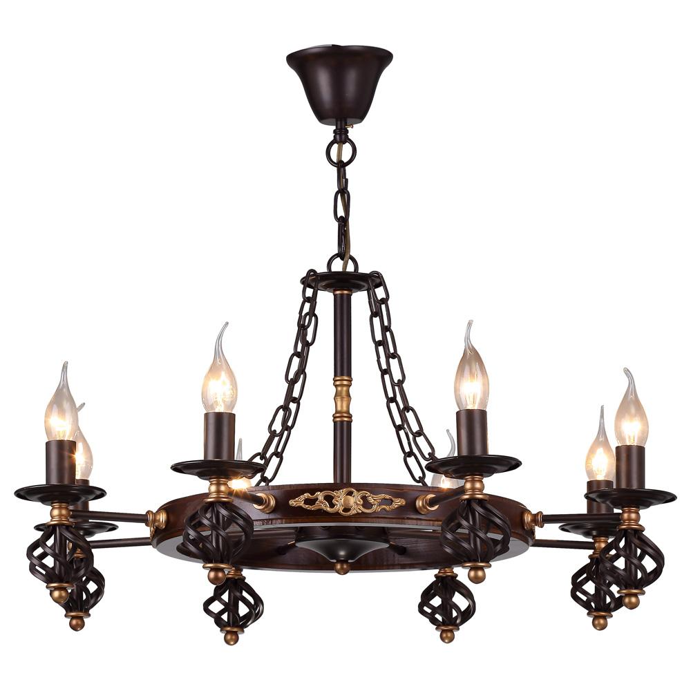 Светильник подвесной Arte Lamp CARTWHEEL A4550LM-8CKA4550LM-8CK