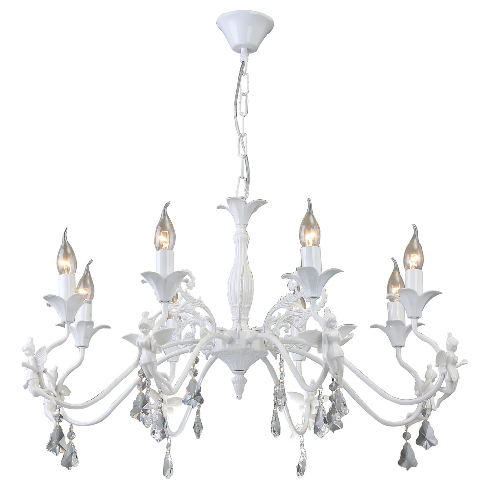 Светильник подвесной Arte Lamp ANGELINA A5349LM-8WHA5349LM-8WH