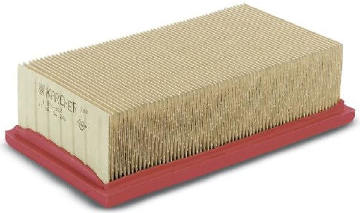 Karcher 64144980 фильтр для пылесоса64144980Фильтр для пылесоса Karcher имеет большую площадь фильтрующей поверхности при малом объеме. Он позволяет чередовать операции влажной и сухой уборки без замены фильтра. Подходит к аппаратам: SE 5.100, SE 6.100.
