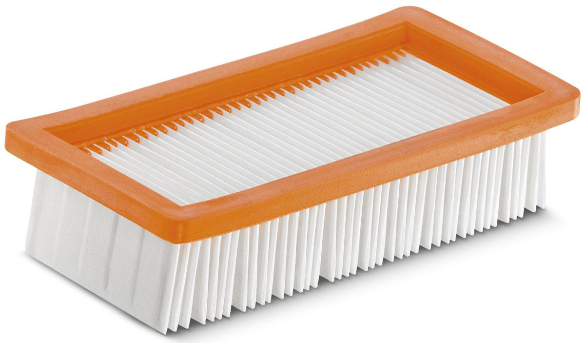 Karcher 64159530 фильтр для пылесоса64159530Прочный плоский складчатый фильтр Karcher для пылесосов AD 3.000 и AD 3.200 обеспечивает долгое сохранение высокой силы всасывания. Он создан специально для золы и сухой уборки. Фильтр подходит для продолжительной очистки.