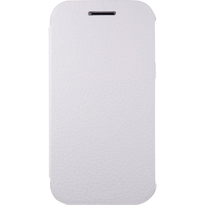 Anymode Flip Case чехол для Samsung Galaxy J1, WhiteFA00030KWHЧехол Anymode Flip Case для Samsung Galaxy J1 обеспечивает надежную защиту корпуса и экрана смартфона и надолго сохраняет его привлекательный внешний вид. Чехол также обеспечивает свободный доступ ко всем разъемам и клавишам устройства.