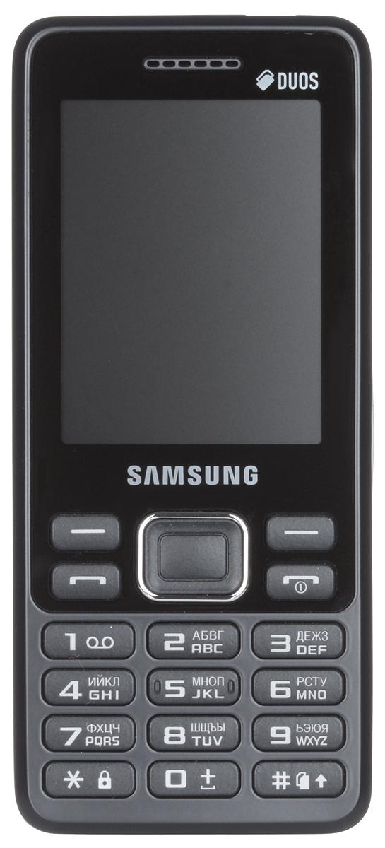 Samsung SM-B350E, Blue BlackSM-B350EBKASERSamsung SM-B350E - классический моноблок, который легко помещается кармане и удобно лежит в руке. Эргономичная модель комфортно ощущается в ладони, а стильные элементы дизайна привлекают внимание окружающих.Данная модель оснащена 2,4-дюймовым дисплеем, который делает комфортным просмотр фото, чтение сообщений и использование других функций устройства. В поездке всегда можно окунуться в мир музыки, включив встроенный плеер или FM-радио. К тому же стандартный аудиоразъем 3.5 мм подойдет практически для любых наушников.Samsung SM-B350E поддерживает работу с двумя SIM-картами в режиме ожидания, за счет чего он может использоваться в качестве личного и рабочего одновременно. Кроме того, наличие двух карт позволяет эффективно управлять тарифами различных мобильных операторов, уменьшая уровень расходов.Телефон сертифицирован Ростест и имеет русифицированную клавиатуру, меню и Руководство пользователя.
