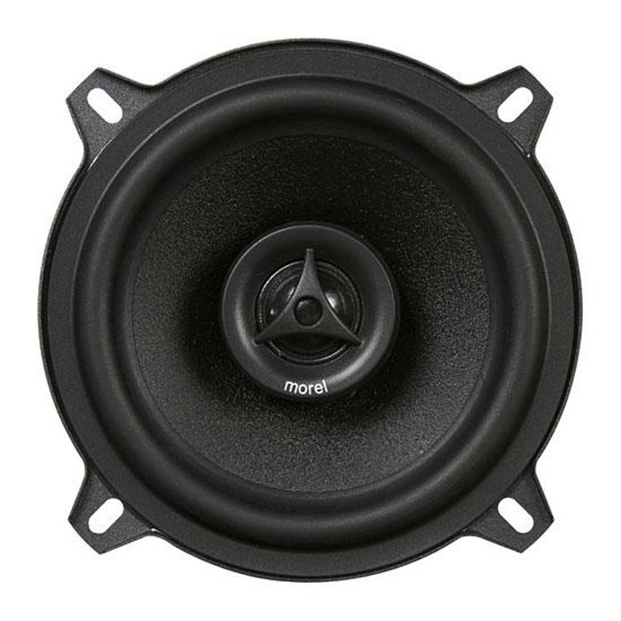 Morel Car Maximo Coax 5 1/4 автомобильная акустика, 2 штMOREL MAXIMO COAX 5 1/4Компания Morel представляет младшую линейку акустики под названием Maximo. При разработке этих динамиков основной задачей являлось сохранение фирменного звукового почерка Morel, что позволило перенести звуковые качества более дорогой акустики в новую ценовую категорию для компании.Высокая эффективность - еще одна черта динамиков Maximo. Высококачественный ферритовый магнит мидбаса создает мощное магнитное поле, которое позволяет достичь высокой мощности иотдачи. В то же время, этот магнит на 35% меньше обычных аналогичных по мощности ферритовых магнитов, позволяя Maximo быть меньше в размерах.Maximo является первым продуктом компании Morel, в которых используется новое покрытие Acudamp. Эта ультра легкая полимерная смола применяется в динамиках для того, чтобы устранить нежелательные резонансы диффузора, которые на слух воспринимаются как искажения. Это, а также оптимизация с помощью специальных компьютерных программ и симуляций диффузоров и подвесов динамиков, позволяет достичь чистого звучания, линейного движения подвижной системы и улучшенного воспроизведения баса.Звуковая катушка ВЧ-динамика: 19 мм (0.8). меднаяЗвуковая катушка НЧ-динамика: 25 мм (1), меднаяМагнитная система НЧ-динамика: ферритовый магнитМагнитная система ВЧ-динамика: неодимовый магнитРазмер НЧ-динамика: 5,25
