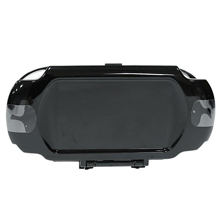 Пластиковый чехол Hori для PS Vita (черный)PSV-080EПрочный, легкий чехол надежно защитит вашу консоль от механических повреждений.