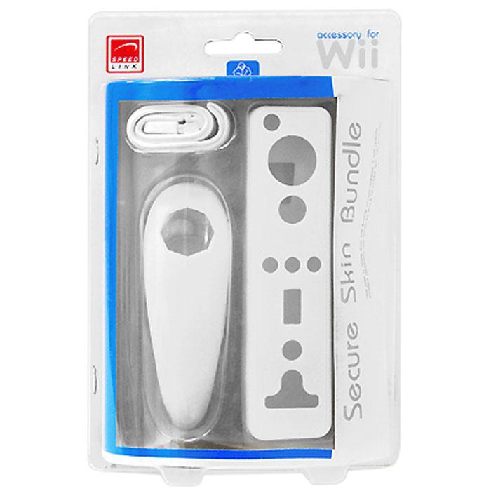 Защитные чехлы для контроллера Wii (белые, 2 шт.)