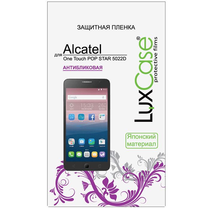LuxCase защитная пленка для Alcatel OT-5022D Pop Star, антибликовая51355Защитная пленка Luxcase для Alcatel OT-5022D Pop Star сохраняет экран смартфона гладким и предотвращает появление на нем царапин и потертостей. Структура пленки позволяет ей плотно удерживаться без помощи клеевых составов и выравнивать поверхность при небольших механических воздействиях. Пленка практически незаметна на экране смартфона и сохраняет все характеристики цветопередачи и чувствительности сенсора.