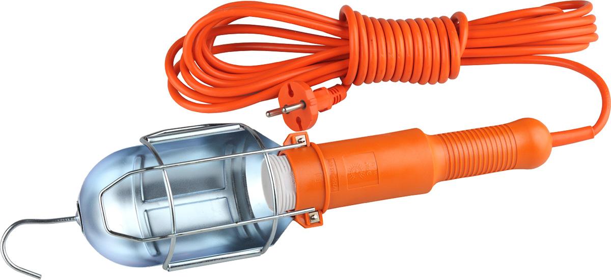 Светильник переносной ЭРА WL-1s-7m, со встроенной розеткой и выключателем, 7 мWL-1s-7mПереносной светильник ЭРА WL-1s-7m предназначен для бытового применения и является многофункциональным изделием: может использоваться в качестве переносного светильника, а также в качестве электрического соединителя, то есть обеспечивает возможность присоединения электрических приемников к однофазным сетям с номинальным напряжением не более 220В. Технические характеристики: Номинальное напряжение: 220В. Частота сети: 50/60 Гц. Тип цоколя: Е27. Напряжение питания лампы: 220В. Максимальная мощность лампы: 60 Вт. Количество патронов: 1. Наличие переключателя режима светильника: есть. Функция подсветки переключателя в режиме Вкл: есть. Количество жил в проводе: 2. Сечение жилы провода: 0,75 мм2. Наличие заземляющего элемента: нет. Температура эксплуатации: от +5°С до +40°С. Относительная влажность: не более 85%. Срок службы: 5 лет. Материал корпуса: ABS пластик.