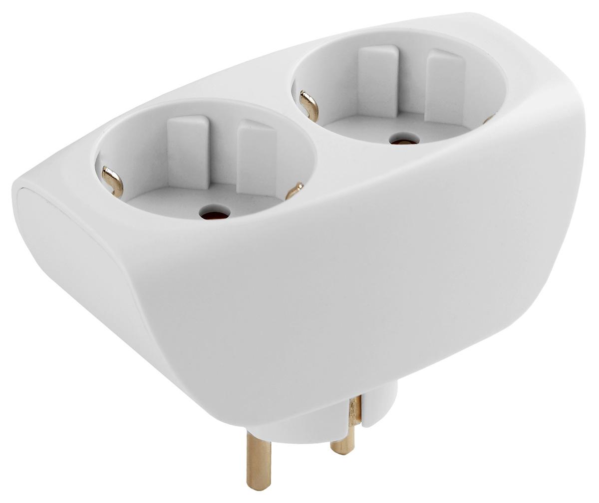 Тройник ЭРА SP-2e-W, с заземлением, цвет: белый, 2 гнездаSP-2e-WСетевой разветвитель (тройник) ЭРА предназначен для бытового применения в помещениях и обеспечивает возможность присоединения электрических приемников к однофазным сетям с номинальным напряжением 220В. Позволяет подключить несколько потребителей к одной электрической розетке. Материал корпуса - негорючий пластик с антипиренами, устойчив к механическим повреждениям, соответствует требованиям пожаробезопасности. Разветвитель имеет заземление и шторки. Наличие заземляющего контакта: да. Напряжение номинальное: 220В. Напряжение максимальное: 250В. Температура эксплуатации: от +5°С до +40°С. Относительная влажность: не более 85%. Срок службы: 5 лет. Материал корпуса: поликарбонат. Материал токоведущих частей: латунь CuZn15.