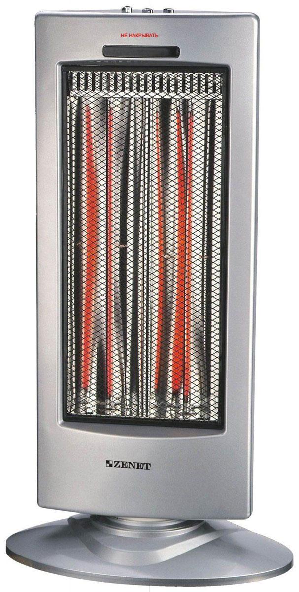 Zenet ZET-501 карбоновый обогреватель NSKT 90 AZET-501Карбоновый обогреватель Zenet ZET-501 станет вашим незаменимым помощником дома или на даче, в офисе или в магазине, его можно использовать даже в ванной комнате или зимнем саду, потому что он совсем не боится влаги - нагревательный элемент надежно запаян в стеклянную трубку и не соприкасается с влажным воздухом. По этой же причине устройство смело можно включать в очень пыльном помещении, например, на пыльном производстве. Пыль не может проникнуть к нагревательному элементу, не будет сгорать и выделять неприятные запахи, как это бывает при использовании масляных и других обогревателей.Инфракрасный нагреватель Zenet ZET-501 прекрасно подойдет для любителей загородного зимнего отдыха. Представляете, вы приехали на дачу, дом остыл за неделю, в нем минусовая температура. Но стоит включить обогреватель, и уже через несколько секунд можно будет снять уличную одежду, вам станет тепло. Такой быстрый нагрев происходит за счет принципиально нового способа обогрева - длинноволнового инфракрасного излучения, которое обогревает не воздух, а предметы. Тепло от карбоновых обогревателей распространяется на расстояние 4 метра и гораздо быстрее согревает окружающее пространство. Для сравнения, другие виды обогревателей способны согреть воздух вокруг себя только на расстоянии одного метра, поэтому их эффективность гораздо ниже, и вам всегда приходилось ждать подолгу, пока помещение нагреется.Карбоновый обогреватель Zenet ZET-501 позволит вам экономить на счетах за электроэнергию, потому что его энергопотребление всего 450/900Вт (в разных режимах), при этом тепла он выделяет столько же сколько и масляный обогреватель, потребляющий 1000-1800 Вт. Это особенно актуально для домов со слабой электропроводкой, а также в случае, если вы весь день находитесь на работе и приходите домой только вечером. Вам не придется оставлять включенный прибор на целый день, чтобы квартира не остыла к вашему приходу, тратя большие средства на оплату электр