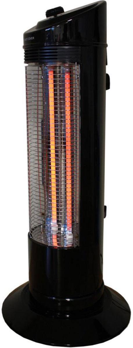 Zenet QH-1200, Black кварцевый обогревательQH-1200 blackНагревательный элемент в карбоновом обогревателе Zenet QH-1200 изготовлен из тканной углеводородной (карбоновой) нити, имеющую форму спирали и запаян в вакуумную кварцевую трубку. За счёт того, что нагревательный элемент карбоновая (углеводородная) нить, у которой теплопроводность намного выше, чем у обогревателей, где нагревательный элемент, по сути, металлическая проволока (керамические, масляные), карбоновый обогреватель потребляет меньше электроэнергии в 2 - 2,5 раза. Причём, эффективность нагрева такая же, как у выше перечисленных обогревателей, при потреблении 1,8 - 2,4 КВт, против 1200 Вт у карбонового обогревателя. Что в нынешней ситуации, когда электроэнергия стоит дорого и нагрузка на сеть, соответственно, меньше в 2 - 2,5 раза, имеет не маловажное значение.Нагревательный элемент имеет долговечный срок службы, при условии соблюдения технических условий эксплуатации (220 Вольт 50 Гц) , в отличии от вышеупомянутых обогревателей, у которых нагревательный элемент имеет свойство провисать и окислятся с течением времени. Галогенные обогреватели (трубки заполненные газом), так же имеют ограниченный (полугодовой) ресурс работы. Конструктивная особенность обогревателя позволяет вращаться на 180 градусов, что даёт возможность обогревать, при потреблении в 1200 Вт, площадь до 30 кв. м.За счёт того, что нагревательный элемент Zenet QH-1200 запаян в вакуумной кварцевой трубке (защищён от проникновения влаги) и расположен вертикально, исключено попадания на него пыли и, соответственно, ее сгорания. Карбоновый обогреватель относится инфракрасным обогревателям к классу длинноволновых (прогревают не воздух, а окружающие его предметы и тело человека), поэтому не сушат воздух и не сжигают кислород.Нагревательный элемент обычных обогревателей обладает нагревательной эффективностью на расстоянии до одного метра, а карбоновый до 3 - 4 метров. Карбоновый обогреватель Zenet QH-1200 способен прогревать тело человека на нескол