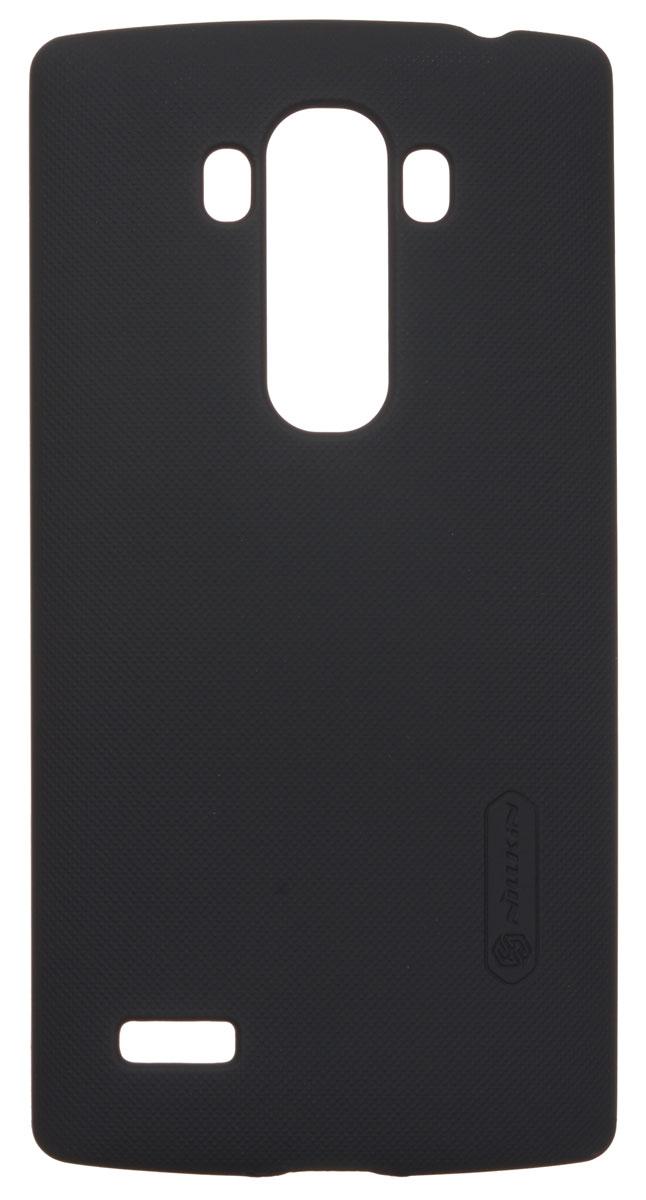 Nillkin Super Frosted Shield чехол для LG G4S, BlackT-N-LG4S-002Чехол Nillkin Super Frosted Shield для LG G4S изготовлен из экологически чистого поликарбоната путем высокотемпературной высокоточной формовки. Обе стороны чехла выполнены в соответствии с самой современной технологией изготовления матовых материалов, устойчивых к оседанию пыли, и покрыты краской, светящейся под воздействием ультрафиолета. Элегантный дизайн, чехол приятен на ощупь. Жесткость чехла предотвращает телефон от повреждений во время транспортировки. Размер чехла точно соответствует размеру телефона с четким соответствием всех функциональных отверстий. Вы можете использовать чехол, как вам будет удобно. Он изготовлен из цельной пластины методом загиба, износостойкий, устойчив к оседанию пыли, не скользит, устойчив к образованию отпечатков, легко чистится.СупертонкийНе скользит в руках