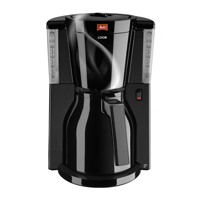 Melitta 21270 Look IV Therm Basic, Black кофеварка