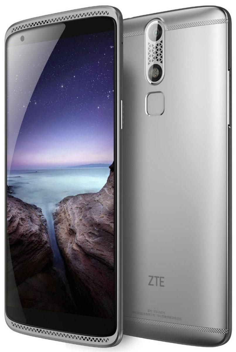 ZTE Axon Mini, SilverZTE AXON MINI (4G) SILVERЗащитить свой смартфон от несанкционированного доступа еще никогда не было так просто и надежно! ZTE Axon Mini обладает тремя способами биометрической идентификации – датчик отпечатка пальца, датчик распознавания голоса и датчик распознавания сетчатки глаза.Корпус смартфона выполнен из авиационного алюминия в обтекаемом форм-факторе, что обеспечивает сочетание высокой эргономики, механической прочности устройства и низкого веса - всего 132 грамма.Любители цифрового звука будут приятно удивлены наличием в смартфоне Axon Mini независимого аудио-чипсета и кодека премиального уровня AKM4961 от японской корпорации Asahi Kasei Microdevices, который обеспечит высочайшее качество воспроизведения любимых треков. Кроме того, благодаря передовым функциям шумоподавления, уровень записываемого звука при видеосъемке будет сравним со студийным.Данная модель имеет в арсенале Full HD-дисплей, что обеспечивает высочайшую четкость и качество картинки.Его 5,2-дюймовый дисплей построен на технологии Super AMOLED благодаря чему изображение на экране выглядит великолепно под любым углом.Axon Mini имеет основную 13-мегапиксельную камеру с диафрагмой F/2.2 и фазовым автофокусом, наводящим резкость за десятую долю секунды. Захват селфи осуществляется 8-мегапиксельной камерой с широкой апертурой F/2.0. Телефон сертифицирован Ростест и имеет русифицированный интерфейс меню, а также Руководство пользователя
