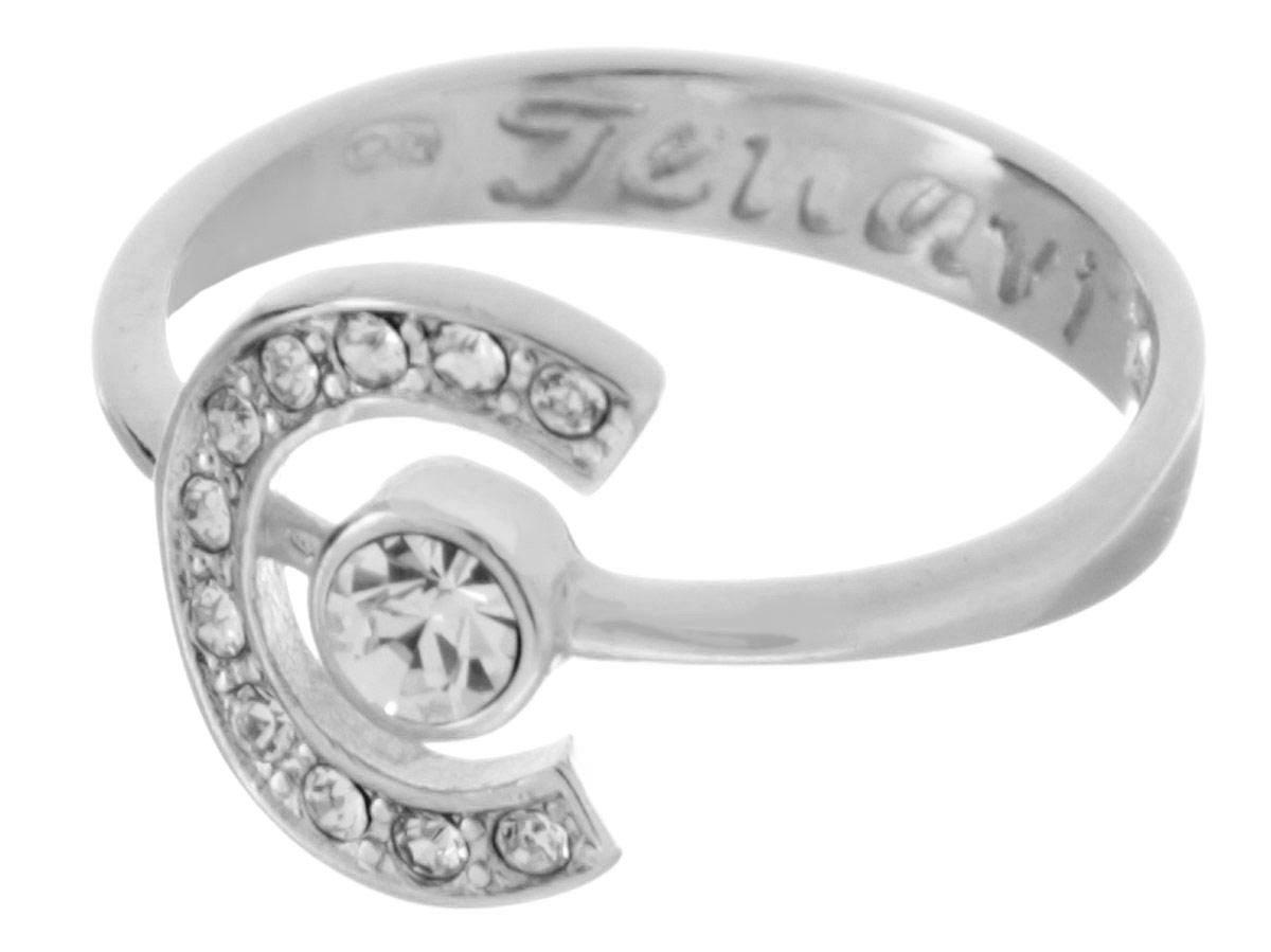 Кольцо Jenavi Saturnio. Эстелио, цвет: серебряный, белый. f497f000. Размер 20Коктейльное кольцоИзящное кольцо Jenavi из коллекции Saturnio. Эстелио изготовлено из ювелирного сплава с покрытием серебрения с родием. Изделие выполнено в необычном дизайне и дополнено вставками из кристаллов Swarovski. Стильное кольцо придаст вашему образу изюминку, подчеркнет индивидуальность.
