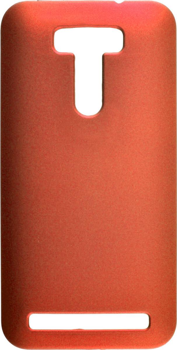 Skinbox 4People чехол для Asus Zenfone Selfie ZD551KL, RedT-S-AZS-002Чехол - накладка Skinbox 4People для Asus Zenfone Selfie ZD551KL бережно и надежно защитит ваш смартфон от пыли, грязи, царапин и других повреждений. Чехол оставляет свободным доступ ко всем разъемам и кнопкам устройства. В комплект также входит защитная пленка на экран.