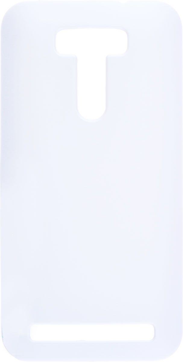 Skinbox 4People чехол для Asus Zenfone Selfie ZD551KL, WhiteT-S-AZS-002Чехол - накладка Skinbox 4People для Asus Zenfone Selfie ZD551KL бережно и надежно защитит ваш смартфон от пыли, грязи, царапин и других повреждений. Чехол оставляет свободным доступ ко всем разъемам и кнопкам устройства. В комплект также входит защитная пленка на экран.