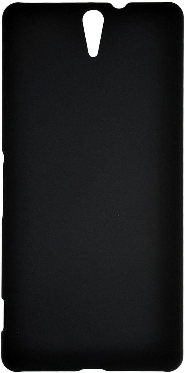 Skinbox 4People чехол для Sony Xperia C5 Ultra, Black skinbox lux чехол для sony xperia c5 ultra white