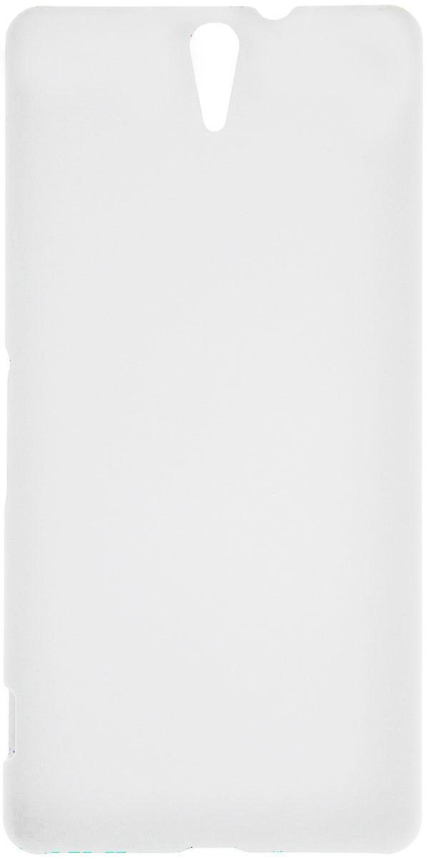 Skinbox 4People чехол для Sony Xperia C5 Ultra, WhiteT-S-SXC5U-002Чехол - накладка Skinbox 4People для Sony Xperia C5 Ultra бережно и надежно защитит ваш смартфон от пыли, грязи, царапин и других повреждений. Чехол оставляет свободным доступ ко всем разъемам и кнопкам устройства. В комплект также входит защитная пленка на экран.