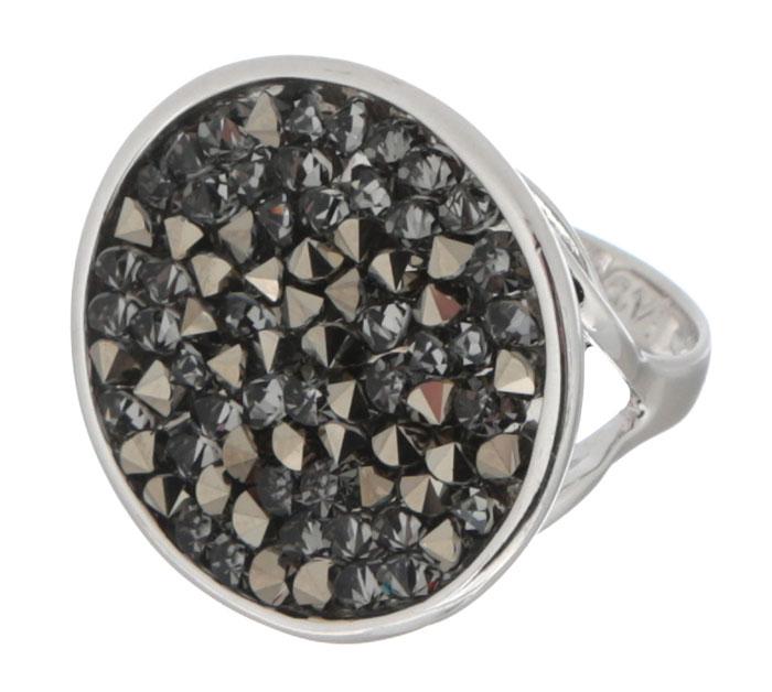 Кольцо Jenavi Карпо, цвет: серебряный, серый. j337f066. Размер 16Коктейльное кольцоЯркое кольцо Jenavi Карпо выполнено из ювелирного сплава с антиаллергическим гальваническим покрытием серебром с родированием. Кристаллы Swarovski, наполняющие декоративную основу украшения, ассоциируются с великими нераскрытыми тайнами и вечной божественной силой. К тому же, изделие обладает превосходной практичностью и сочетаемостью, несмотря на свою яркую центральную часть.Изысканное решение и оригинальный дизайн этого кольца не позволят вам остаться незамеченными!