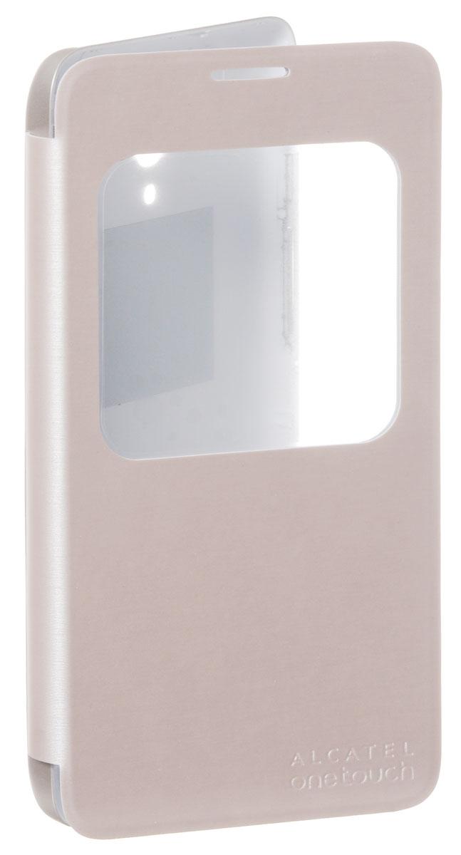 Alcatel S-View чехол для OT-5054D Pop 3, GoldG5054-3LALFCG-RU2Alcatel Alcatel S-View - стильный и надежный полиуретановый чехол для Alcatel OT-5054D Pop 3. Он обеспечивает полную защиту смартфона от сколов и царапин, а также свободный доступ по всем кнопкам и портам.