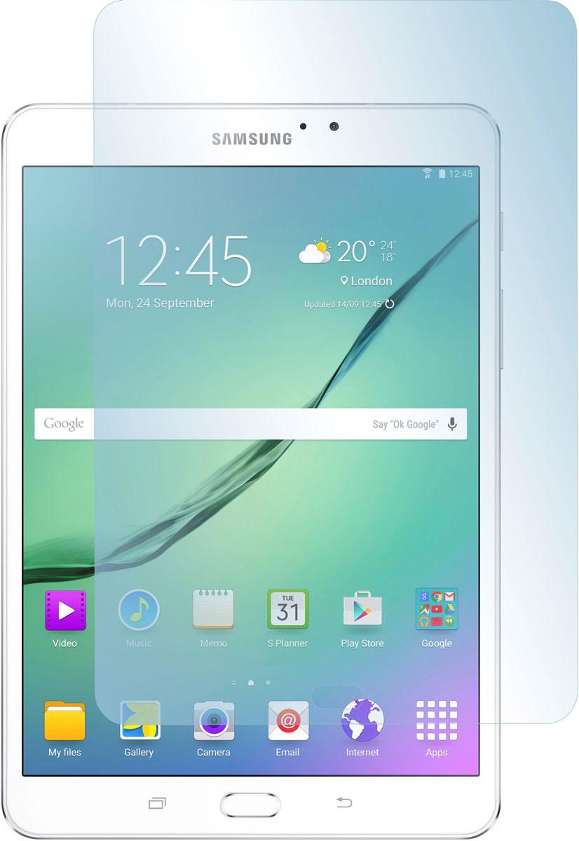 Skinbox защитное стекло для Samsung Galaxy Tab S2 9.7, глянцевоеSP-172Защитное стекло Skinbox для Samsung Galaxy Tab S2 9.7 предназначено для защиты поверхности экрана от царапин, потертостей, отпечатков пальцев и прочих следов механического воздействия. Оно имеет окаймляющую загнутую мембрану последнего поколения, а также олеофобное покрытие. Изделие изготовлено из закаленного стекла высшей категории, с высокой чувствительностью и сцеплением с экраном.