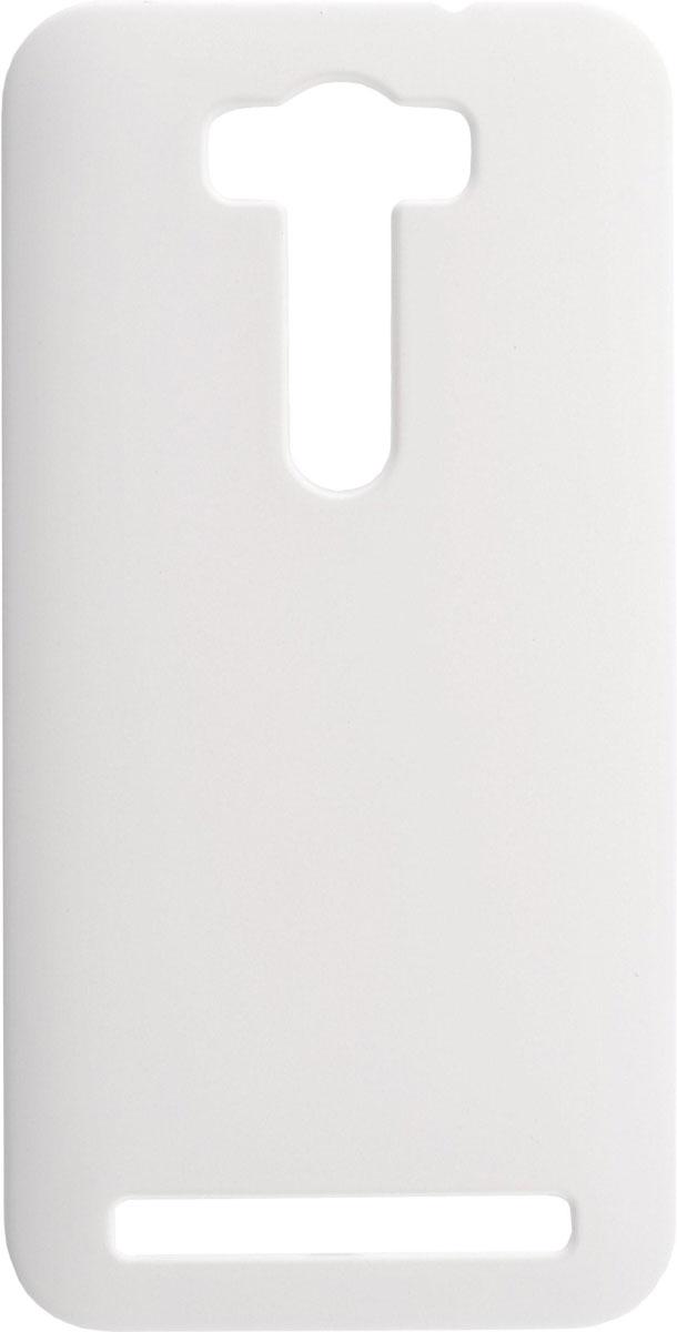 Skinbox 4People чехол для Asus Zenfone Laser 2 ZE500KL/ZE500KG, WhiteT-S-AZL2-002Чехол-накладка Skinbox 4People для Asus Zenfone Laser 2 ZE500KL/ZE500KG бережно и надежно защитит ваш смартфон от пыли, грязи, царапин и других повреждений. Выполнен из высококачественного поликарбоната, плотно прилегает и не скользит в руках. Чехол оставляет свободным доступ ко всем разъемам и кнопкам устройства.
