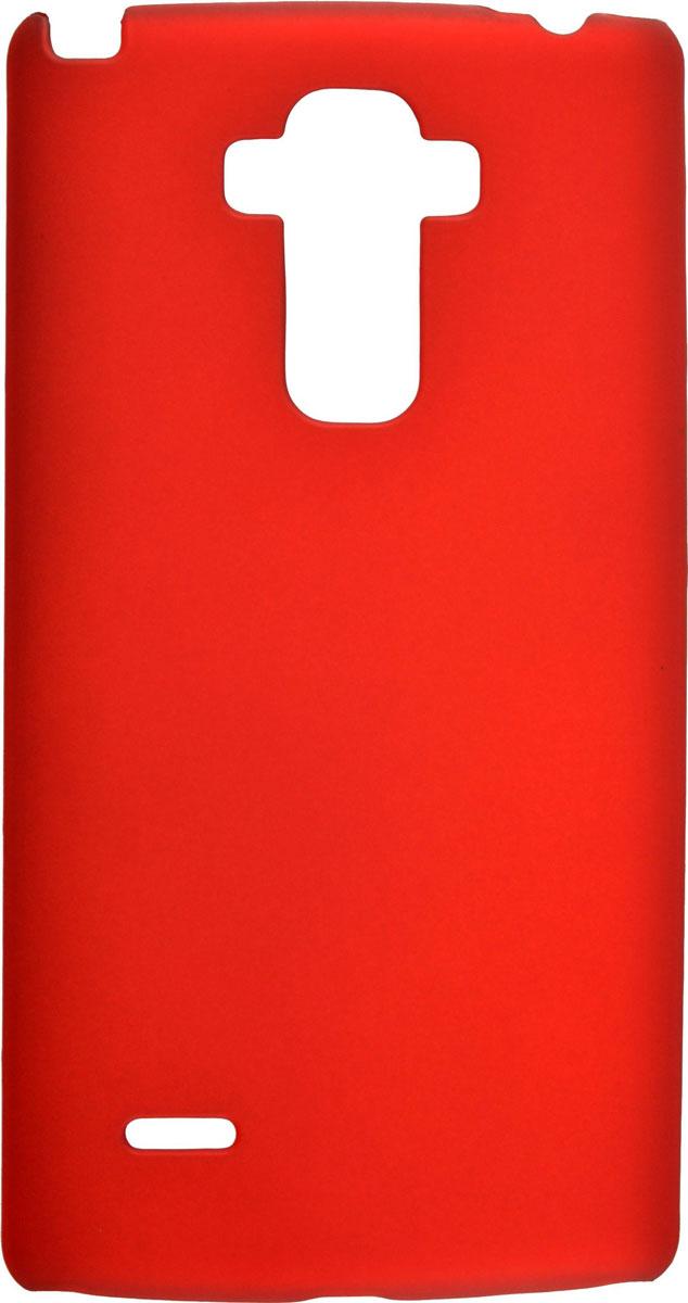 Skinbox 4People чехол для LG G4 Stylus, RedT-S-LG4Stylus-002Чехол-накладка Skinbox 4People для LG G4 Stylus бережно и надежно защитит ваш смартфон от пыли, грязи, царапин и других повреждений. Выполнен из высококачественного поликарбоната, плотно прилегает и не скользит в руках. Чехол оставляет свободным доступ ко всем разъемам и кнопкам устройства.