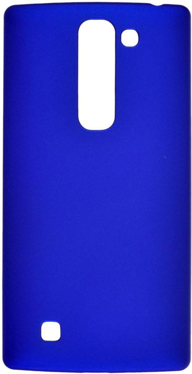 Skinbox 4People чехол для LG G4C, BlueT-S-LG4C-002Чехол-накладка Skinbox 4People для LG G4C бережно и надежно защитит ваш смартфон от пыли, грязи, царапин и других повреждений. Выполнен из высококачественного поликарбоната, плотно прилегает и не скользит в руках. Чехол оставляет свободным доступ ко всем разъемам и кнопкам устройства.