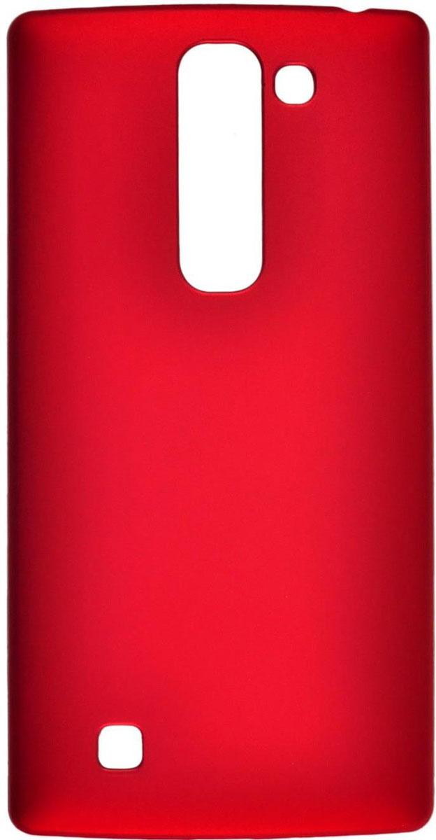 Skinbox 4People чехол для LG G4C, RedT-S-LG4C-002Чехол-накладка Skinbox 4People для LG G4C бережно и надежно защитит ваш смартфон от пыли, грязи, царапин и других повреждений. Выполнен из высококачественного поликарбоната, плотно прилегает и не скользит в руках. Чехол оставляет свободным доступ ко всем разъемам и кнопкам устройства.