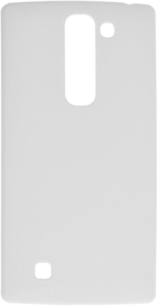 Skinbox 4People чехол для LG G4C, WhiteT-S-LG4C-002Чехол-накладка Skinbox 4People для LG G4C бережно и надежно защитит ваш смартфон от пыли, грязи, царапин и других повреждений. Выполнен из высококачественного поликарбоната, плотно прилегает и не скользит в руках. Чехол оставляет свободным доступ ко всем разъемам и кнопкам устройства.