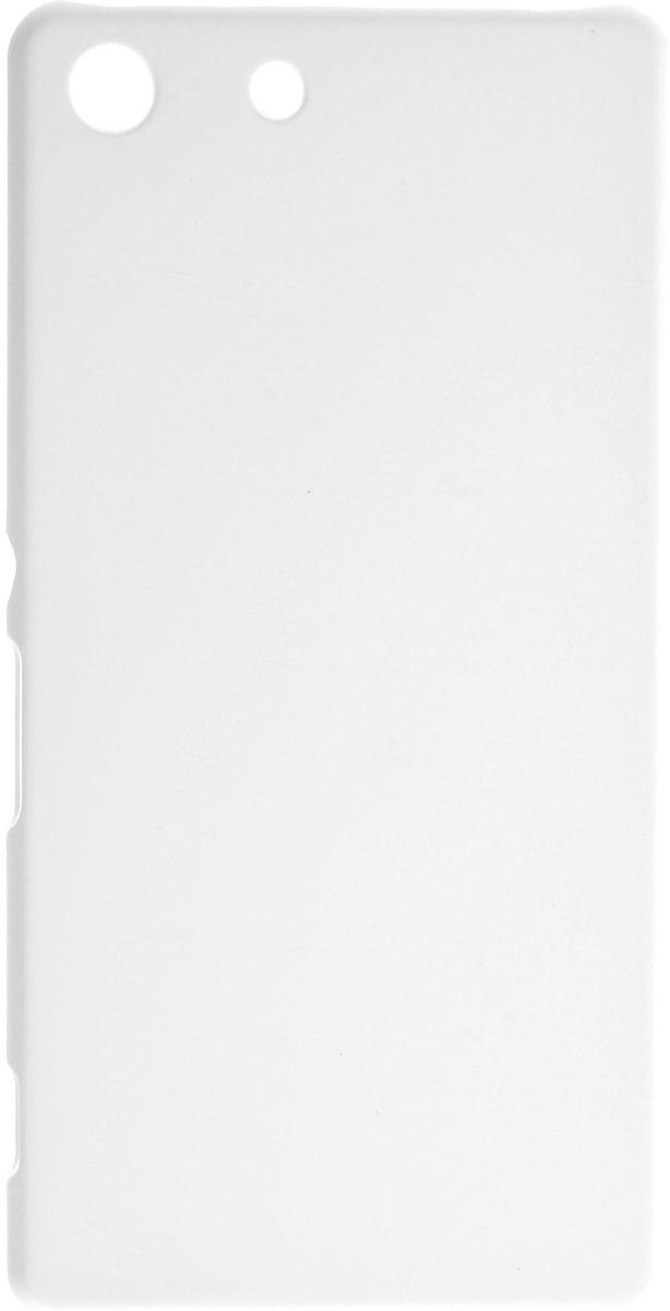 Skinbox 4People чехол для Sony Xperia M5, WhiteT-S-SXM5-002Чехол-накладка Skinbox 4People для Sony Xperia M5 бережно и надежно защитит ваш смартфон от пыли, грязи, царапин и других повреждений. Выполнен из высококачественного поликарбоната, плотно прилегает и не скользит в руках. Чехол оставляет свободным доступ ко всем разъемам и кнопкам устройства.