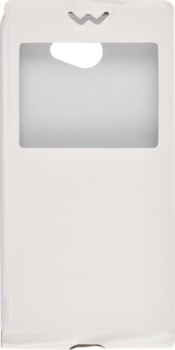 Skinbox Flip slim AW чехол для LGMax (L Bello 2), White skinbox lux чехол для lg max l bello 2 brown