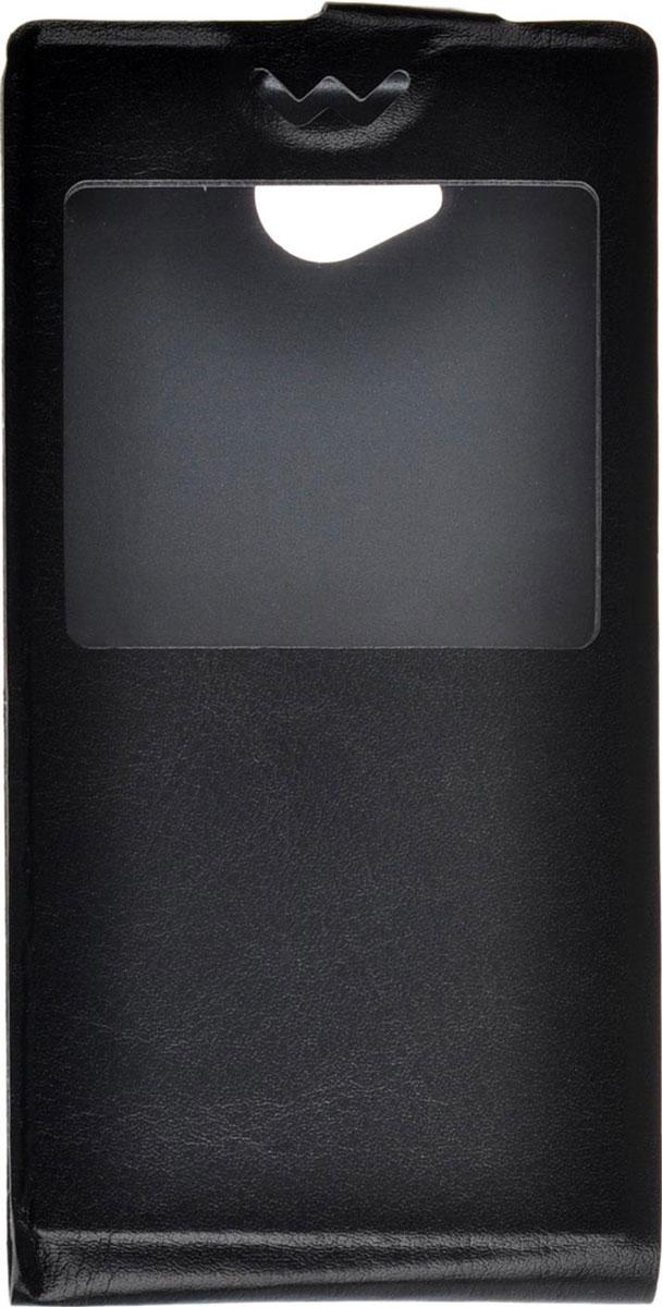 Skinbox Flip slim AW чехол для ZTE Blade Q Lux, BlackT-F-ZBQl-001Чехол Skinbox Flip slim AW для ZTE Blade Q Lux выполнен из высококачественного поликарбоната и экокожи. Он обеспечивает надежную защиту корпуса и экрана смартфона и надолго сохраняет его привлекательный внешний вид. Чехол также обеспечивает свободный доступ ко всем разъемам и клавишам устройства.