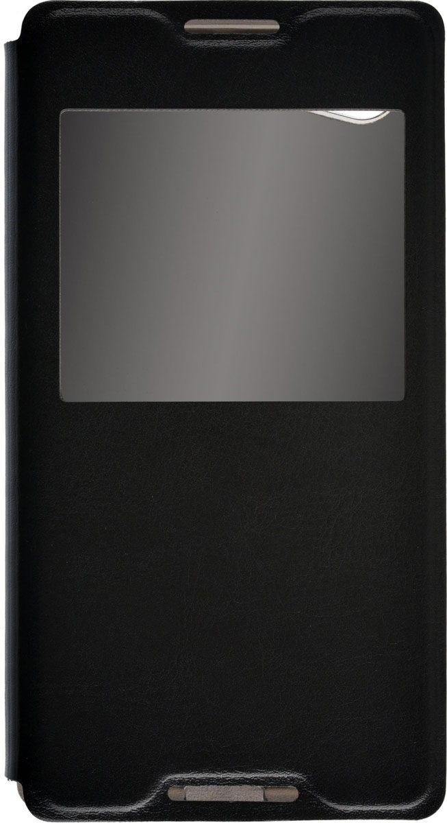 Skinbox Lux AW чехол для Sony Xperia Z5 Compact, Black skinbox lux чехол для sony xperia c5 ultra white