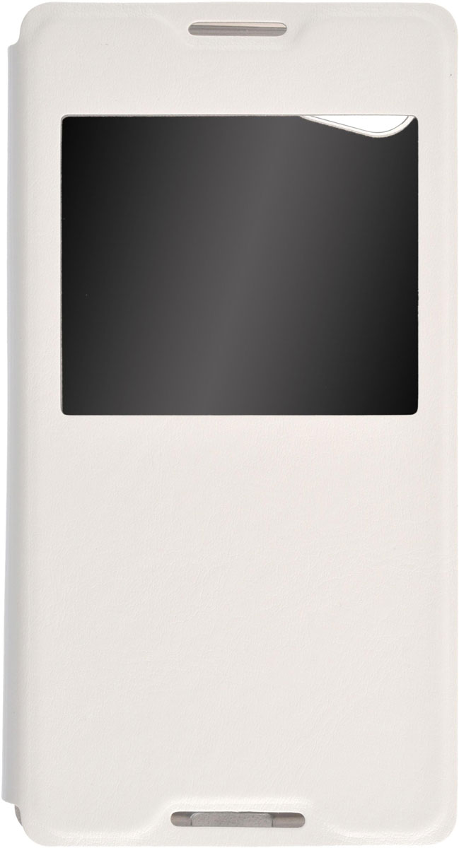 Skinbox Lux AW чехол для Sony Xperia Z5 Compact, WhiteT-S-SZ5C-004Чехол Skinbox Lux AW для Sony Xperia Z5 Compact выполнен из высококачественного поликарбоната и экокожи. Он обеспечивает надежную защиту корпуса и экрана смартфона и надолго сохраняет его привлекательный внешний вид. Чехол также обеспечивает свободный доступ ко всем разъемам и клавишам устройства.