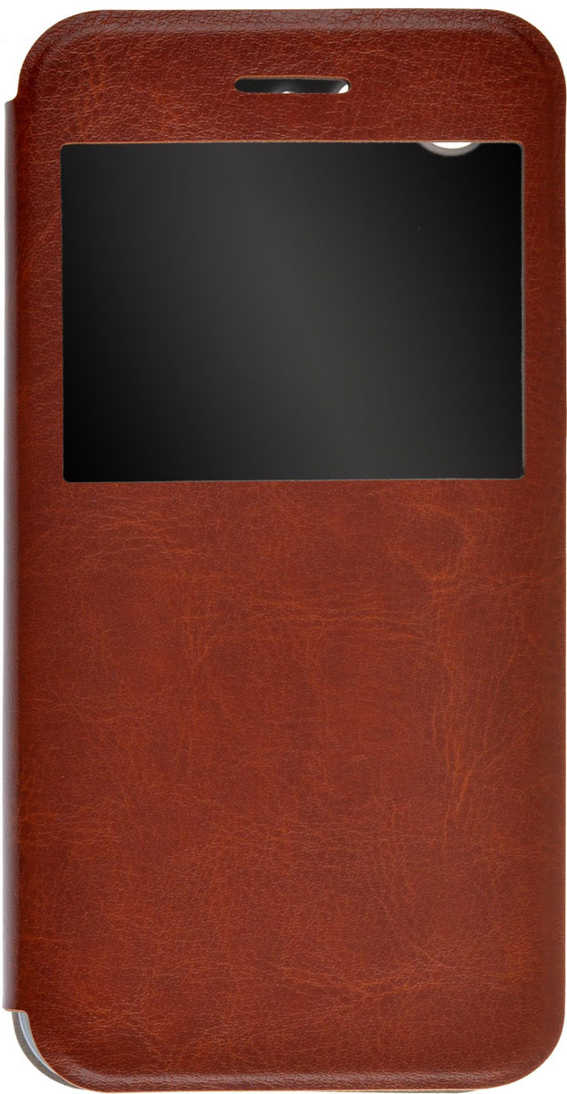 Skinbox Lux AW чехол для ZTE Blade X7, BrownT-S-ZBX7-004Чехол Skinbox Lux AW для ZTE Blade X7 выполнен из высококачественного поликарбоната и экокожи. Он обеспечивает надежную защиту корпуса и экрана смартфона и надолго сохраняет его привлекательный внешний вид. Чехол также обеспечивает свободный доступ ко всем разъемам и клавишам устройства.