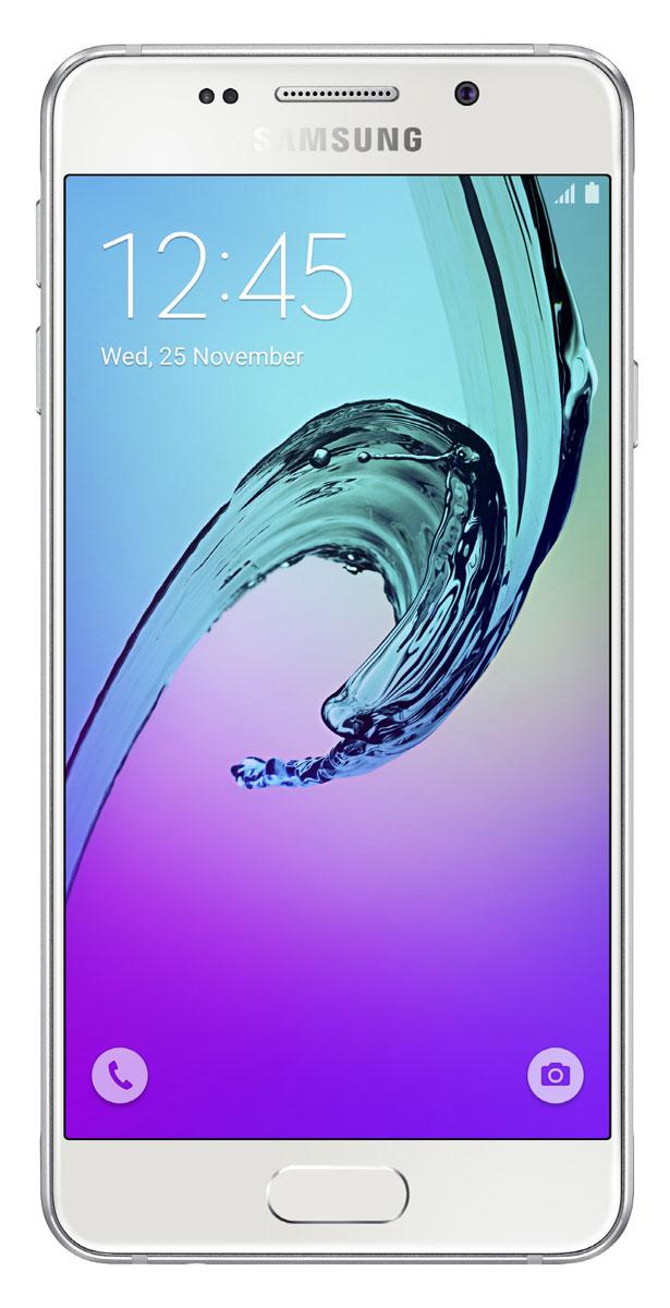 Samsung SM-A310F Galaxy A3 (2016), WhiteSM-A310FZWDSERSamsung SM-A310F Galaxy A3 - стильное мобильное устройство из стекла и металла сделает вашу жизнь комфортнее благодаря эргономичному дизайну, мощному аккумулятору, поддержке быстрой зарядки, усовершенствованной камере, улучшенному процессору и поддержке LTE.Премиальный дизайн, надежность и великолепие стекла Gorilla Glass. Оцените комфортный просмотр изображений на экране с более тонкой рамкой.Четырехъядерный процессор Exynos 7578 с частотой 1,5 ГГц обеспечивает быстрый доступ к любимым приложениям и великолепную поддержку в режиме многозадачности.Фронтальная и основная камеры с диафрагмой F1.9 - это всегда яркие и четкие снимки даже в условиях низкой освещенности. Благодаря быстрому запуску камеры двойным нажатием кнопки Домой вы не упустите самые важные моменты вашей жизни. Для создания отличных селфи предусмотрено сразу несколько удобных функций - например, Palm Selfie, с помощью которой можно управлять камерой жестом, функция Wide Selfie, позволяющая создавать панорамные селфи, а также набор эффектов для улучшения изображения.Аккумулятор с увеличенной ёмкостью продлевает работу смартфона. Смотрите видео с высоким HD разрешением, играйте в игры, слушайте музыку и работайте с любыми приложениями дольше, чем обычно.Телефон сертифицирован Ростест и имеет русифицированный интерфейс меню, а также Руководство пользователя.