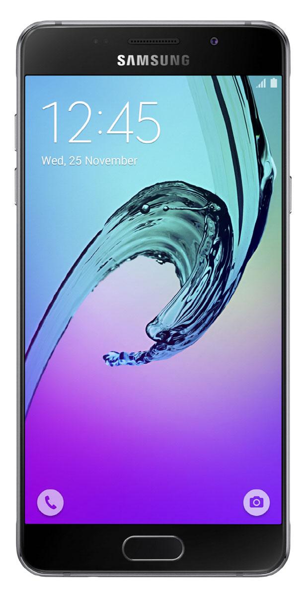 Samsung SM-A510F Galaxy A5, BlackSM-A510FZKDSERSamsung SM-A510F Galaxy A5 - стильный и мощный смартфон из стекла и металла, который сделает вашу жизнь комфортнее благодаря эргономичному дизайну, мощному аккумулятору, поддержке быстрой зарядки, усовершенствованной камере, улучшенному процессору и поддержке LTE.Премиальный дизайн, надежность и великолепие стекла Gorilla Glass. Оцените комфортный просмотр изображений на 5,2-дюймовом Full HD экране с более тонкой рамкой.Восьмиядерный процессор Samsung Exynos 7 Octa 7580 с частотой 1,6 ГГц обеспечивает быстрый доступ к любимым приложениям и великолепную поддержку в режиме многозадачности.Фронтальная и основная камеры с диафрагмой F1.9 - это всегда яркие и четкие снимки даже в условиях низкой освещенности. Благодаря быстрому запуску камеры двойным нажатием кнопки Домой вы не упустите самые важные моменты вашей жизни. Для создания отличных селфи предусмотрено сразу несколько удобных функций - например, Palm Selfie, с помощью которой можно управлять камерой жестом, функция Wide Selfie, позволяющая создавать панорамные селфи, а также набор эффектов для улучшения изображения.Аккумулятор с увеличенной ёмкостью продлевает работу смартфона. Смотрите видео с высоким HD разрешением, играйте в игры, слушайте музыку и работайте с любыми приложениями дольше, чем обычно. Режим быстрой зарядки позволяет зарядить смартфон за 105 минут.Технология распознавания отпечатка пальца обеспечивает надежную защиту данных в смартфоне, а также большее удобство в использовании смартфона.Телефон сертифицирован Ростест и имеет русифицированный интерфейс меню, а также Руководство пользователя.