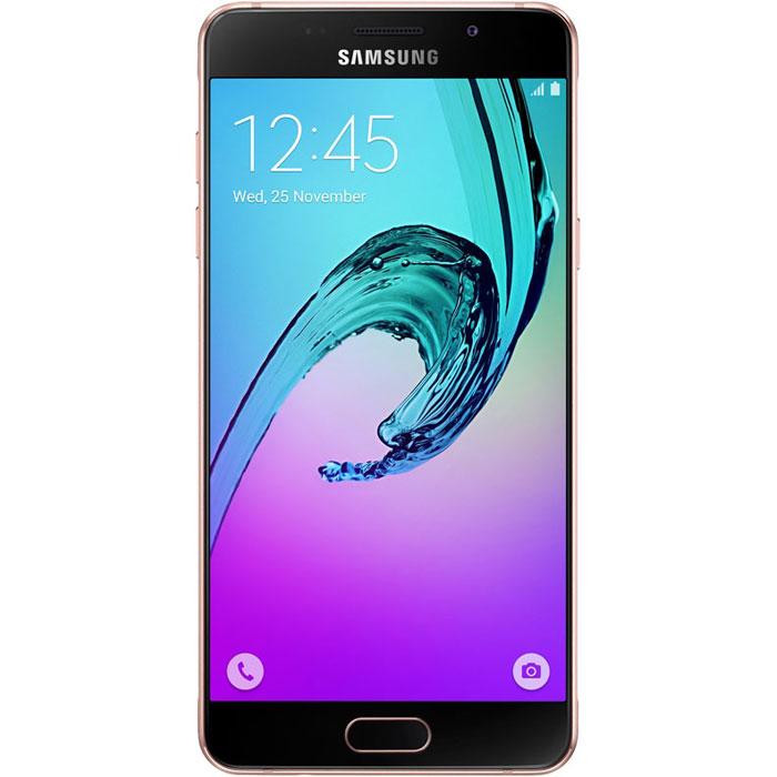 Samsung SM-A510F Galaxy A5, Pink GoldSM-A510FEDDSERSamsung SM-A510F Galaxy A5 - стильный и мощный смартфон из стекла и металла, который сделает вашу жизнь комфортнее благодаря эргономичному дизайну, мощному аккумулятору, поддержке быстрой зарядки, усовершенствованной камере, улучшенному процессору и поддержке LTE.Премиальный дизайн, надежность и великолепие стекла Gorilla Glass. Оцените комфортный просмотр изображений на 5,2-дюймовом Full HD экране с более тонкой рамкой.Восьмиядерный процессор Samsung Exynos 7 Octa 7580 с частотой 1,6 ГГц обеспечивает быстрый доступ к любимым приложениям и великолепную поддержку в режиме многозадачности.Фронтальная и основная камеры с диафрагмой F1.9 - это всегда яркие и четкие снимки даже в условиях низкой освещенности. Благодаря быстрому запуску камеры двойным нажатием кнопки Домой вы не упустите самые важные моменты вашей жизни. Для создания отличных селфи предусмотрено сразу несколько удобных функций - например, Palm Selfie, с помощью которой можно управлять камерой жестом, функция Wide Selfie, позволяющая создавать панорамные селфи, а также набор эффектов для улучшения изображения.Аккумулятор с увеличенной ёмкостью продлевает работу смартфона. Смотрите видео с высоким HD разрешением, играйте в игры, слушайте музыку и работайте с любыми приложениями дольше, чем обычно. Режим быстрой зарядки позволяет зарядить смартфон за 105 минут.Технология распознавания отпечатка пальца обеспечивает надежную защиту данных в смартфоне, а также большее удобство в использовании смартфона.Телефон сертифицирован Ростест и имеет русифицированный интерфейс меню, а также Руководство пользователя.