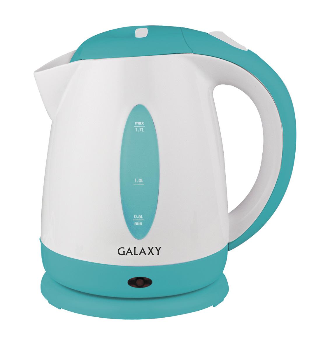 Galaxy GL0221 чайник электрический4650067301594Электрический чайник Galaxy GL0221 отвечает всем современным требованиям надежности и безопасности. При его производстве используются только высококачественные и экологически безопасные материалы, а также нагревательный элемент высокого класса надежности. Galaxy GL0221 будет служить вам долгие годы, наполняя ваш быт комфортом!
