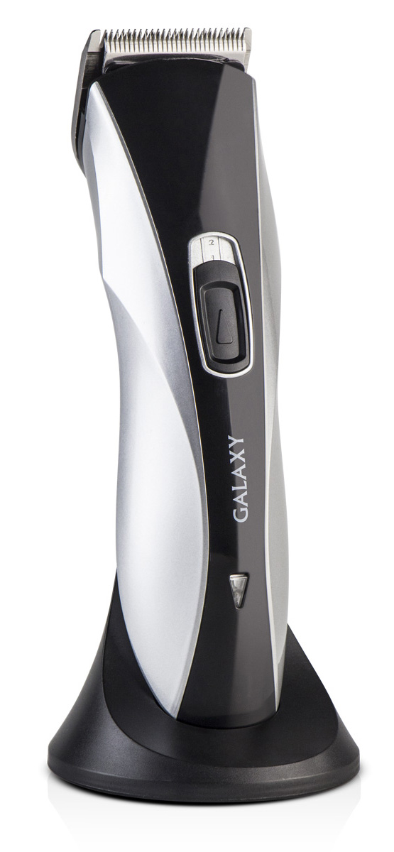 Galaxy GL4155 машинка для стрижки волос4650067301761Машинка для стрижки волос Galaxy GL4155. Плавная регулировка длины стрижки осуществляется при помощи четырех насадок 3, 6, 9, 12 мм, идущих в комплекте с устройством. Современный и эргономичный дизайн.Красивую и модную прическу теперь можно сделать не только в парикмахерской, но и дома.