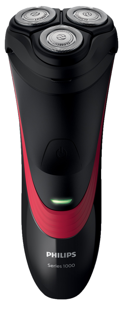 Philips S1310/04 электробритваS1310/04Бритва Shaver Series 1000 обеспечивает простое и комфортное бритье по доступной цене. Гибкие головки движутся в 4 направлениях, а благодаря системе лезвий CloseCut вам гарантирован качественный результат.Надежные самозатачивающиеся лезвия — бритье без усилий:Комфортное бритье благодаря надежным лезвиям CloseCut, которые самостоятельно затачиваются во время работы.Головки двигаются в 4 направлениях, повторяя все контуры для гладкого бритья:Гибкие головки двигаются в 4 направлениях независимо друг от друга, повторяя контуры лица и обеспечивая простое бритье даже на шее и подбородке.35 минут автономной работы после зарядки в течение 8 часов:8-часовой цикл зарядки обеспечивает от 35 минут автономной работы (примерно 11 сеансов бритья). Бритва работает только в беспроводном режиме.Откройте с помощью кнопки, затем используйте щеточку для очистки:Просто откиньте головки и стряхните волоски с помощью прилагаемой щеточки для очистки.Максимальная мощность на долгие годы:Долгое время работы бритвы после каждой зарядки. Благодаря мощному, энергоэффективному литий-ионному аккумулятору бритва долгие годы будет работать как новая.