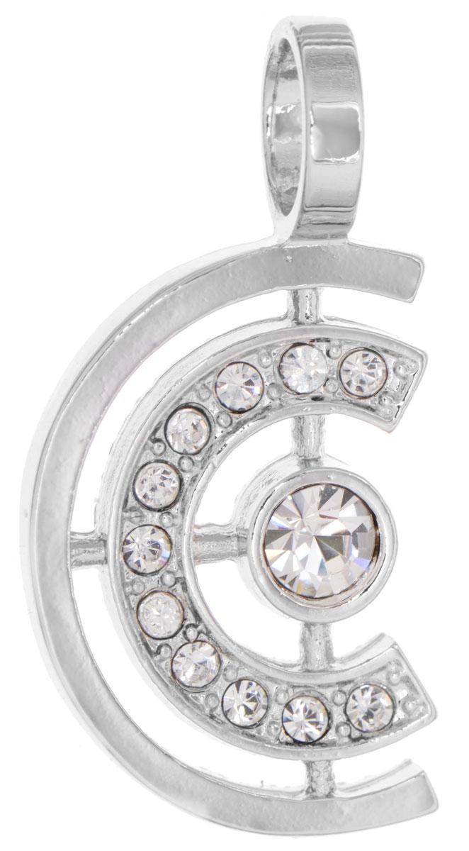 Подвеска Jenavi Эстелио, цвет: серебряный, белый. f497f300Брошь-инталияОригинальная подвеска Jenavi Эстелио выполнена из гипоаллергенного ювелирного сплава, оформлена покрытием из серебра и родия. Изделие дополнено кристаллами Swarovski.Подвеска имеет отверстие, которое позволит подобрать шнур или цепочку любого диаметра.Подвеска Jenavi Эстелио поможет дополнить любой образ и привнести в него завершающий яркий штрих.