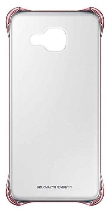 Samsung EF-QA310C Clear Cover чехол для Galaxy A3 (2016), PinkEF-QA310CZEGRUЧехол Samsung Clear Cover подходит для модели смартфона Samsung Galaxy A3 (SM-A310F). Оригинальный аксессуар плотно прилегает к корпусу устройства и защищает от механических повреждений и пыли. Прозрачная поверхность чехла с цветной окантовкой сохраняет оригинальный внешний вид Galaxy A3 (SM-A310F). Чехол сделан из прочного поликарбоната, легко надевается и снимается. При использовании чехла в паре со смартфоном все функциональные порты и клавиши остаются доступными.