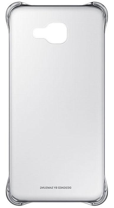 Samsung EF-QA710C Clear Cover чехол для Galaxy A7 (2016), Silver