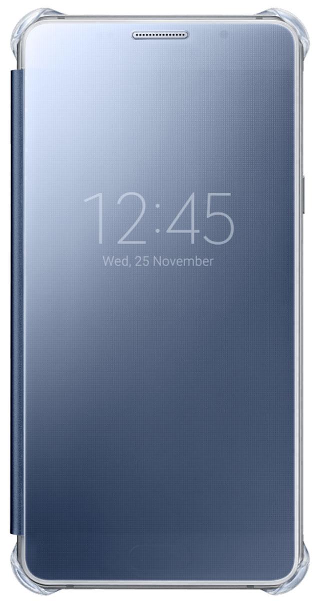 Samsung EF-ZA710C Clear View Cover чехол для Galaxy A7 (2016), Black