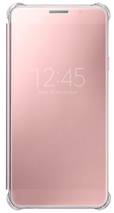 Samsung EF-ZA710C Clear View Cover чехол для Galaxy A7 (2016), PinkEF-ZA710CZEGRUЧехол Samsung ClearView для Galaxy A7 (SM-A710F) идеально сочетается со стильным глянцевым корпусом смартфона. Он обеспечивает доступ к необходимой информации на экране гаджета. Вы можете принимать или отклонять звонки, смотреть время и дату и получать различные сообщения даже когда чехол закрыт. Флип откидывается влево. Samsung ClearView обеспечивает надежную и долговременную защиту вашего Galaxy A7 (SM-A710F) от царапин, ударов и грязи.