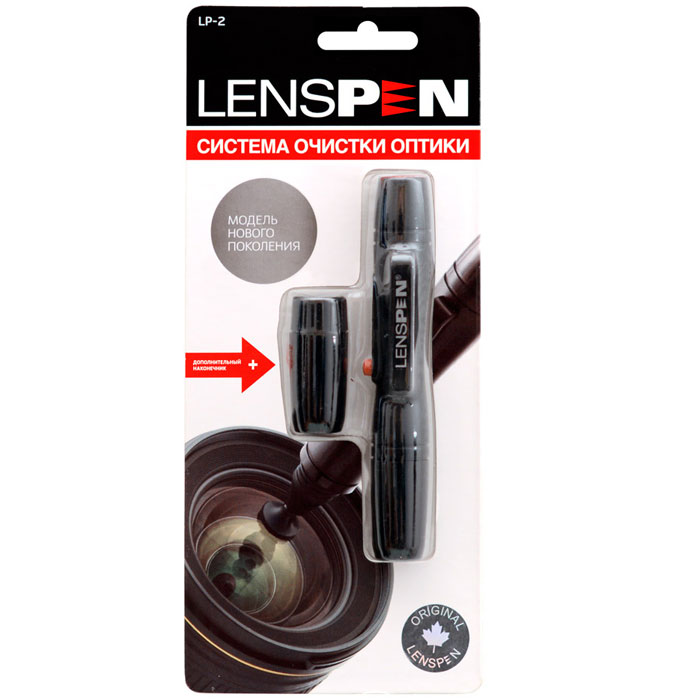 Lenspen LP-2 чистящий карандашLP-2Карандаш для очистки оптики Lenspen разработан специально для эффективной очистки оптических линз диаметром от 13 мм и больше.Безжидкостный специальный углеродный чистящий состав находится в съемном колпачке, закрывающем чистящую подушечку. Карандаш абсолютно безопасен для всех оптических линз, не сохнет, не оставляет никаких следов и разводов, не требует заправки и умещается в любой карман.В комплект входит дополнительный колпачок с чистящим составом.