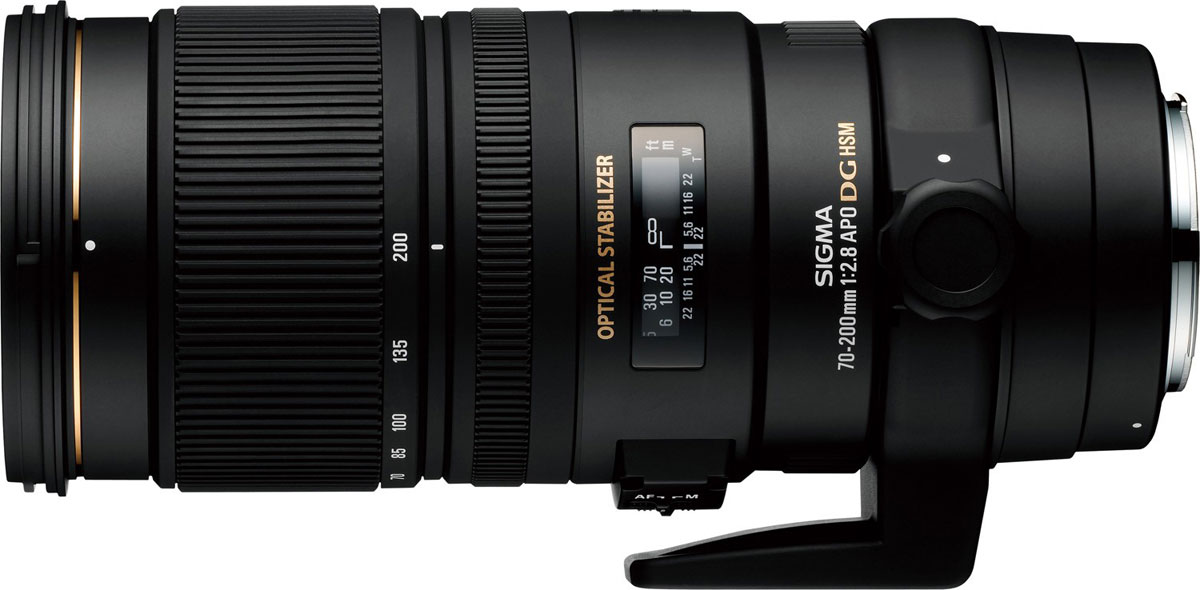 Sigma AF 70-200mm F2.8 APO EX DG OS HSM телеобъектив для Nikon sigma sigma 70 200mm f2 8 apo ex dg os hsm постоянной большой апертурой телефото зум объектив 5 портрет дробовики черного поколения nikon байонет объектива