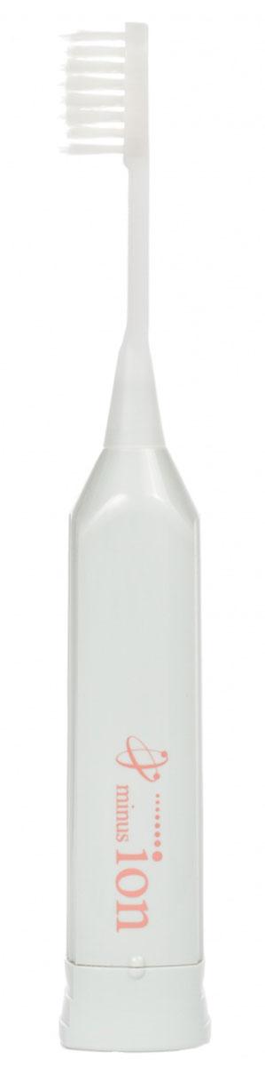 Hapica Minus-ion DBM-1H электрическая зубная щеткаDBM-1HHapica Minus-ion DBM-1H - ионная звуковая зубная щетка с щетинками разной длины. Отрицательно заряженные ионы помогут вам отполировать зубы, избавиться от плохого запаха изо рта а тонкие щетинки уберут налет даже из самых труднодоступных мест. И все это даже без использования зубной пасты. Или с использованием совсем небольшого количества.